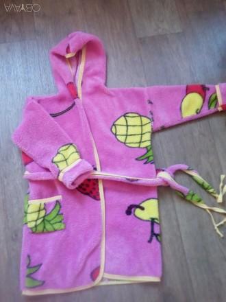 Детский махровый халат. Харьков. фото 1