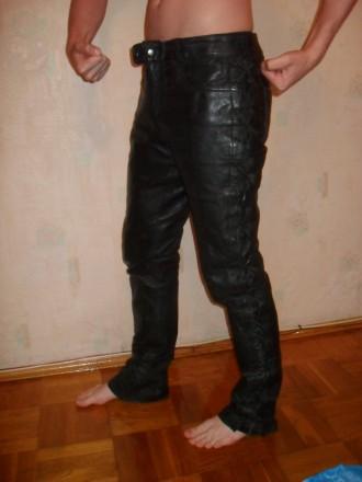 Есть ещё несколько кожаных курток / костюмов и брюк . Кожаные и из кожзаменителя. Киев, Киевская область. фото 6