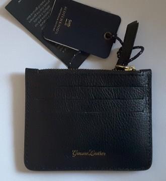 Кожаный card holder с монетницей от scotch&soda. Полтава. фото 1