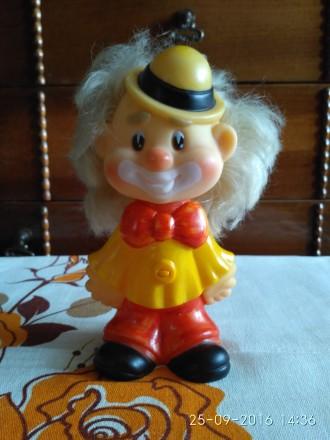 Клоун резиновый. Миколаїв. фото 1