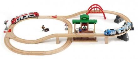 Brio (Брио) 33512 деревянная железная дорога