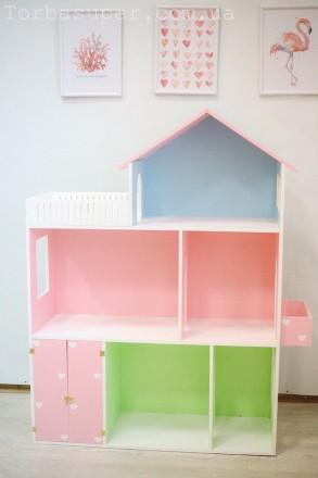 Кукольный домик для кукол, 110*90*30. Днепр. фото 1