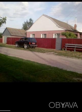 Продается дом по киевской трассе в пгт. Олишевка (Черниговский район). Расстояни. Чернигов, Черниговская область. фото 1