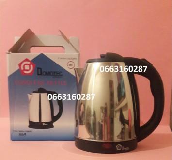 Электрический дисковый чайник Domotec DT-805. Днепр. фото 1