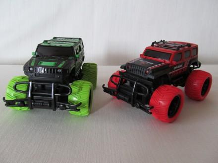 Монстр-кар Hummer H2 на пульті / Jeep Wrangler с пультом управления. Красилов. фото 1