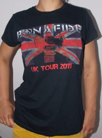 Футболка Bonafide UK Tour 2011. Кривой Рог. фото 1