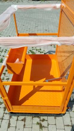 Платформа для 2-х человек + 80 кг.   Платформа предназначена для высотных раб. Хмельницкий, Хмельницкая область. фото 6
