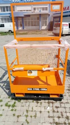 Платформа для 2-х человек + 80 кг.   Платформа предназначена для высотных раб. Хмельницкий, Хмельницкая область. фото 2