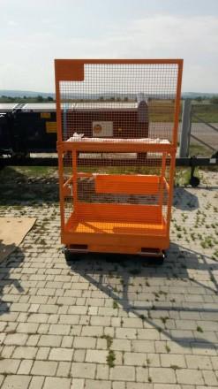 Платформа для 2-х человек + 80 кг.   Платформа предназначена для высотных раб. Хмельницкий, Хмельницкая область. фото 7