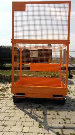 Платформа для 2-х человек + 80 кг.   Платформа предназначена для высотных раб. Хмельницкий, Хмельницкая область. фото 5