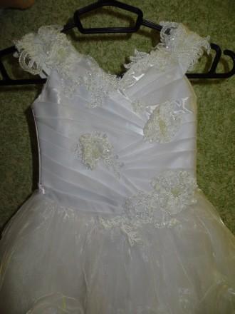 Бальное платье для девочки 2-4 года. Днепр. фото 1