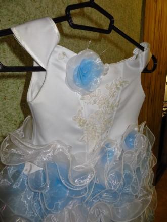 Бальное платье для девочки 4-7 года. Днепр. фото 1