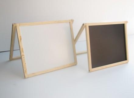 Доска для рисования двухсторонняя не магнитная. Запорожье. фото 1