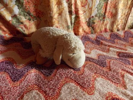 Мягкая игрушка Овечка 40 см М'яка іграшка. Ярмолинцы. фото 1