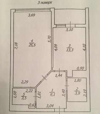 В продаже 1- комнатная квартира в новом сданном жоме на Французском бульваре, в . Приморский, Одесса, Одесская область. фото 3