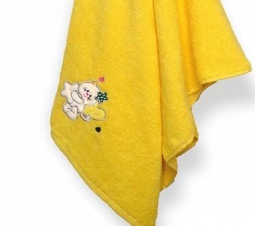 Детское махровое полотенце с забавным рисунком. Киев. фото 1