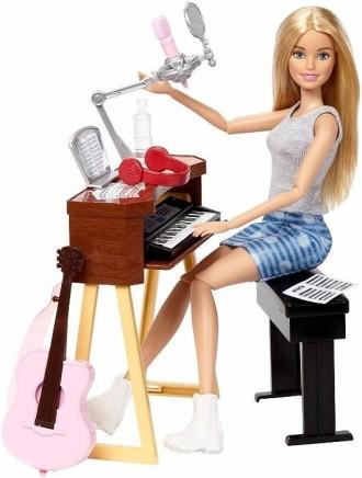 Набор кукла Барби с музыкальными инструментами.Barbie.. Киев. фото 1