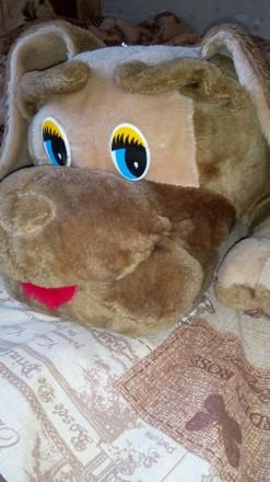 Мягкая большая игрушка Собачка. Конотоп. фото 1