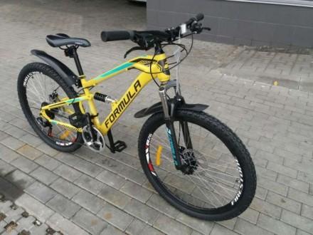 Двухподвесный велосипед Formula Blaze. Мариуполь. фото 1