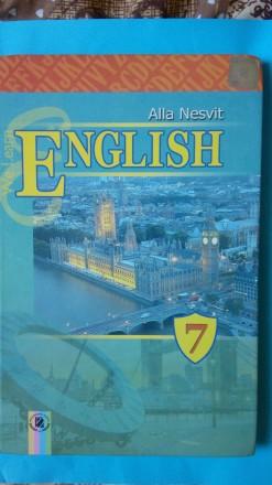 Учебник Підручник Английский язык 7 класс Несвит А.. Конотоп. фото 1