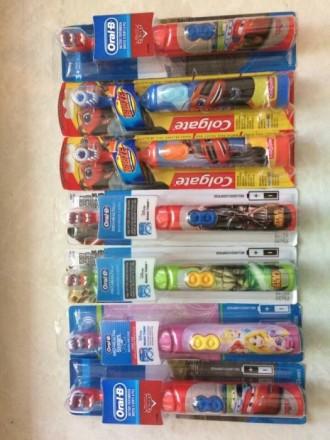 Электрические зубные щетки OralB. Одесса. фото 1