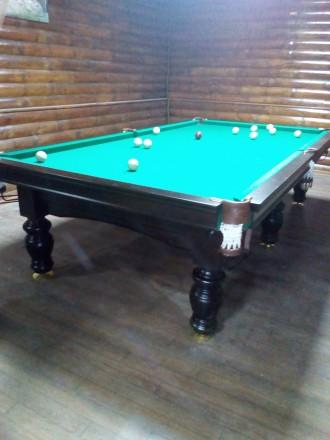 Продам бильярдный стол. Кропивницкий. фото 1