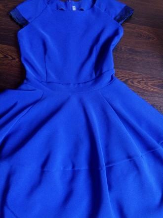 Красивое коктельное платье на выпускной или на торжественное мероприятие, цвет э. Торецк (Дзержинск), Донецкая область. фото 3