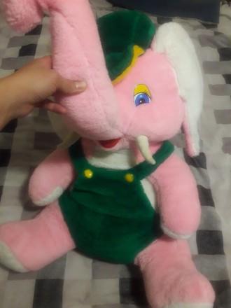 Большая мягкая игрушка слон. Киев. фото 1