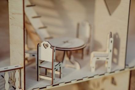 Красивий, приємний та міцний ляльковий будинок для вашої чарівної дівчинки. Ціна. Львов, Львовская область. фото 5