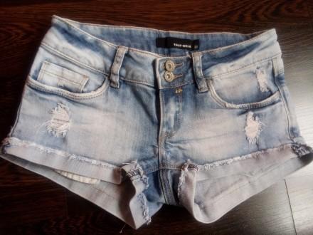 Суперские джинсовые шортики на подростка tally weijl. Торецк (Дзержинск). фото 1