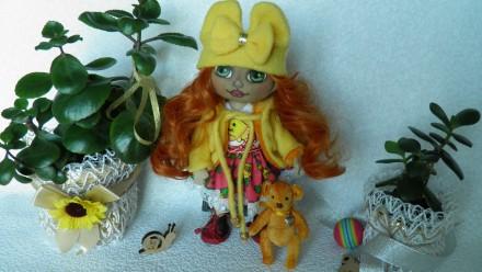 Кукла текстильная ручная работа. Мелитополь. фото 1