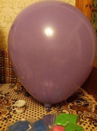 Надувной шар 1 шт - 150 рублей. Уточняйте наличие. Размеры примерно 0,9 м.. Алчевск, Луганская область. фото 3