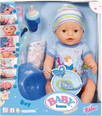 Baby Born інтерактивний пупс хлопчик 43 см. Харьков. фото 1