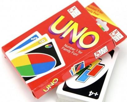Uno/УНО Настольная, карточная игра для всей семьи, компании. Киев. фото 1