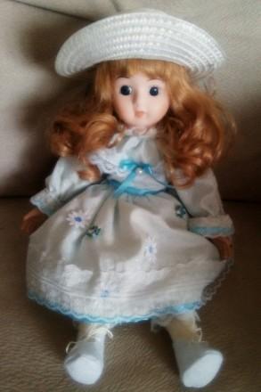 Продам коллекционную, ручной работы фарфорофую куклу. Кривой Рог. фото 1
