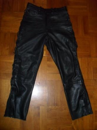 Кожаные женские брюки Louis , размер 40 ( M ). Киев. фото 1