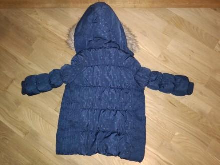Зимова курточка 95-100 ріст.3-4 рочки Довжина від комірного шва по спині до низ. Львов, Львовская область. фото 6