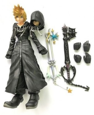 Город Сумерек 2 KINGDOM HEARTS II игрушка фигурка Роксас XIII Roxas XI. Киев. фото 1