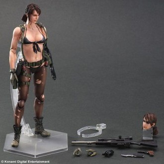 Metal Gear Solid V 5 Phantom игрушка фигурка Quiet. Киев. фото 1