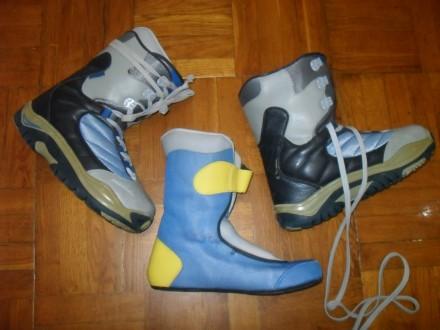 Cноуборд ботинки Deeluxe , 44-45 размер ( 28-28,5 см ). Киев. фото 1