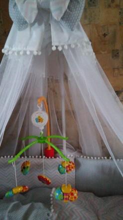 Музыкальный мобиль Baby Team Танец бабочек. Киев. фото 1