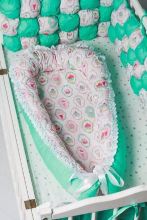 Кокон-гнездышко для новорожденного. Кременчуг. фото 1