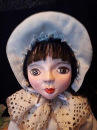 Продается будуарная кукла 45 см. Киев. фото 1