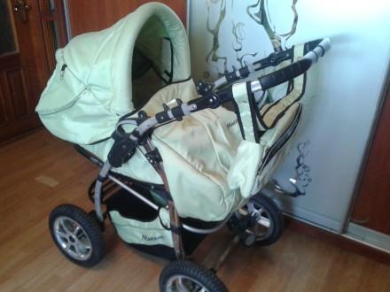 Детская универсальная коляска 2 в 1 Bebetto Murano. Хмельницкий. фото 1