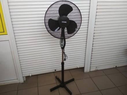 Напольный вентилятор CROWN MA-190 45 Вт. Купянск. фото 1