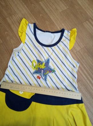 Платье на девочку летнее. Южноукраинск, Николаевская область. фото 3