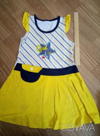 Платье на девочку летнее. Южноукраинск, Николаевская область. фото 1