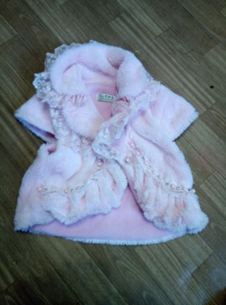 Платье теплое с жилеткой на девочку 6-8лет. Южноукраинск, Николаевская область. фото 3