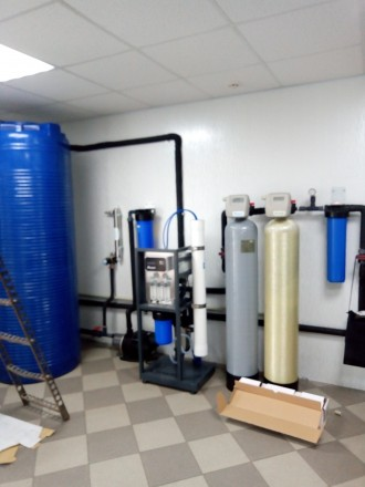 Оборудование для очистки воды перед линиями розлива. Черкассы. фото 1