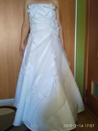 Продается свадебное платье. Славутич. фото 1